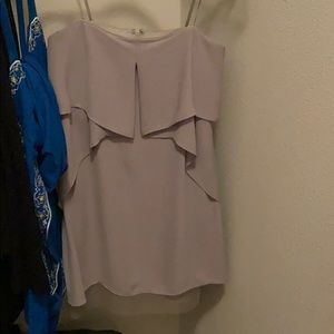 Bcbg silk midi dress